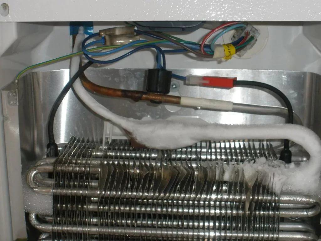 Ремонт испарителя холодильника в Минске