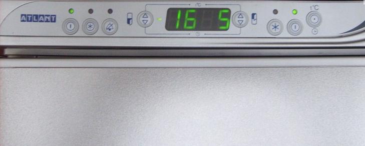 Коды ошибок в холодильниках Атлант